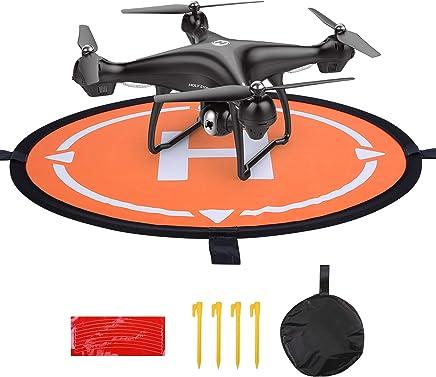 Holy Stone ドローン用ランディングパッド ヘリポート 折り畳み式 両面使用可能 防水HS100/HS100G/HS700/HS160/HS120D/HS200/F181W/HS230/HS110D/Mavic Air/Spark/Phantom 4/Inspire 1