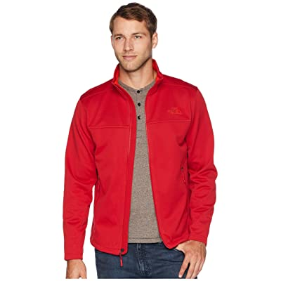 The North Face Apex Canyonwall Jacket (Rage Red/Rage Red) Men