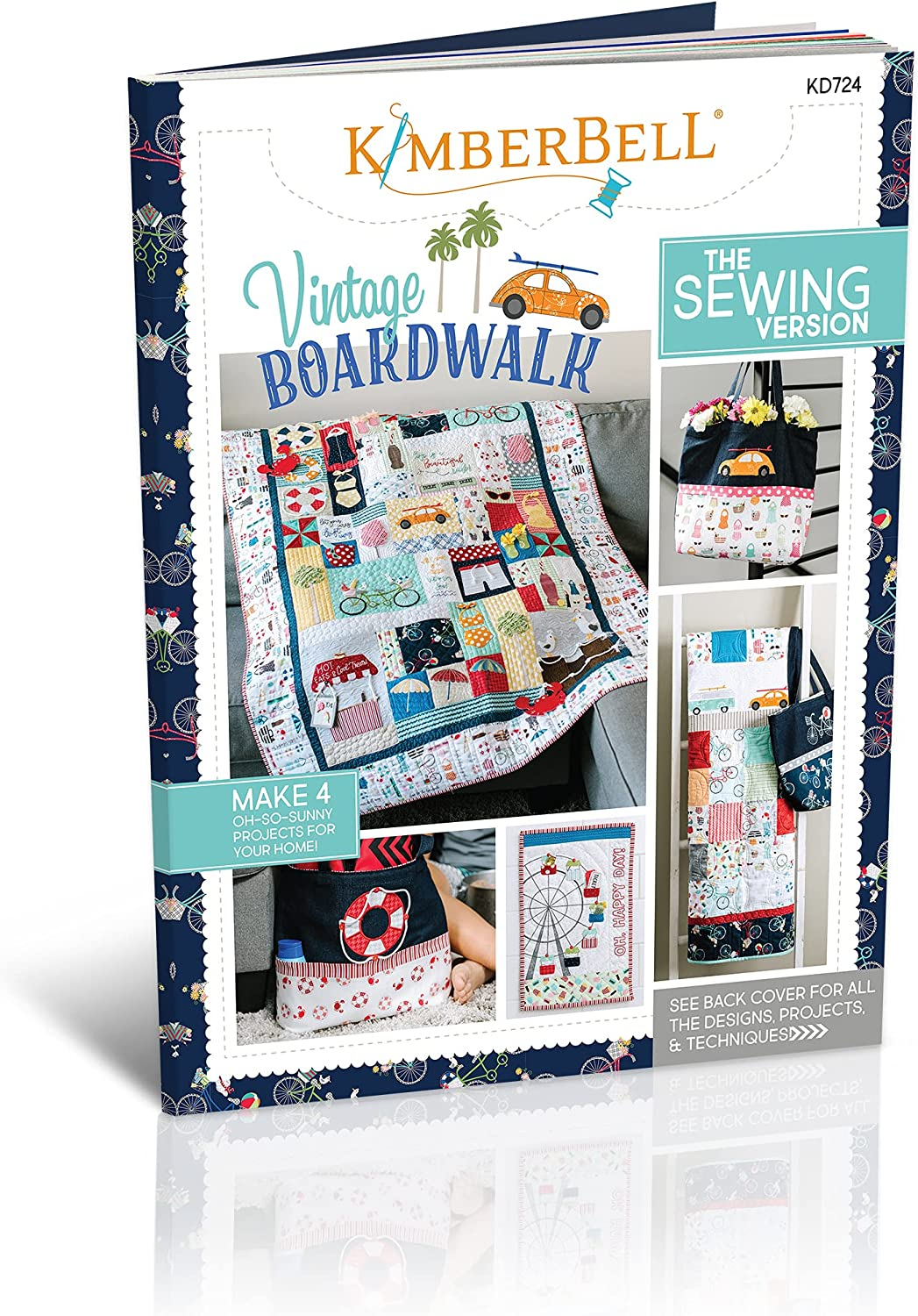 Kimberbell Featured Quilt Sewing Outstanding Vintage 2021 44