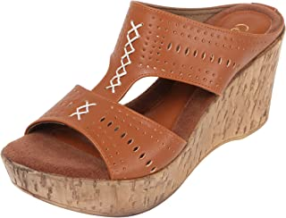 Catwalk Women's Open Toe Wedges