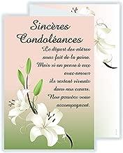 Amazonfr Carte Condoleances