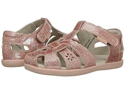 pediped Nikki Flex (Toddler/Little Kid) (Rose Gold) Girls Shoes