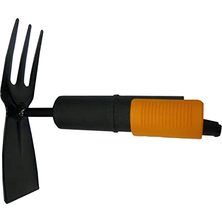 Fiskars Weeding Extractor Trowel Narrow Head 3.5 cm Steel Head Black