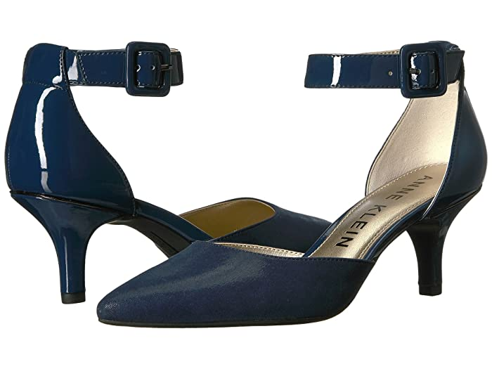 Anne Klein  Fabulist (Navy/Navy Synthetic 1) High Heels