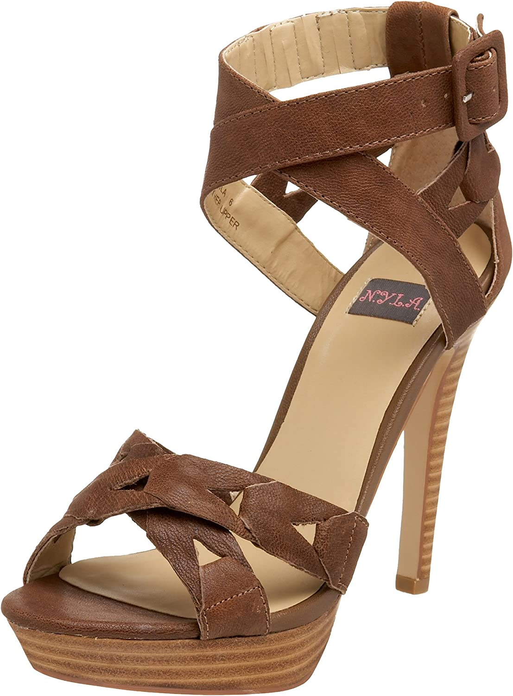 N.Y.L.A. Women's Akila Platform 新作からSALEアイテム等お得な商品満載 Sandal 休み