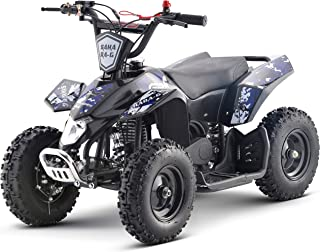 Superrio Kids ATV Sahara 40cc Gas Powered Kids ATV Kids 4 Wheelers Kids Quads, Speed Limiter and Kill Switch (Blue)
