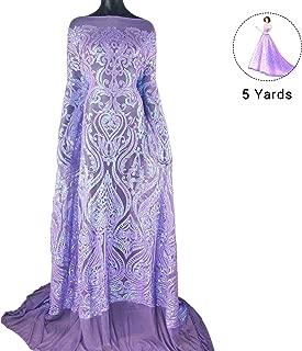 Best purple glitter spandex fabric Reviews