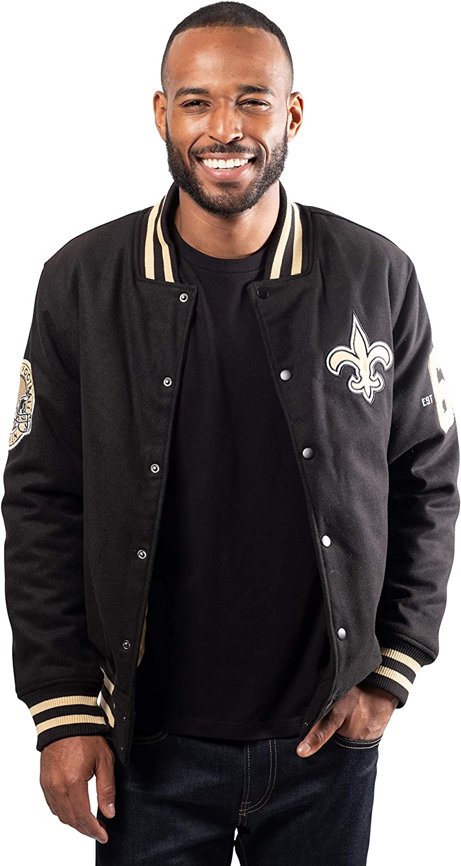 Ultra Game NFL Men's Jacket 正規逆輸入品 Coaches Varsity 在庫あり Classic