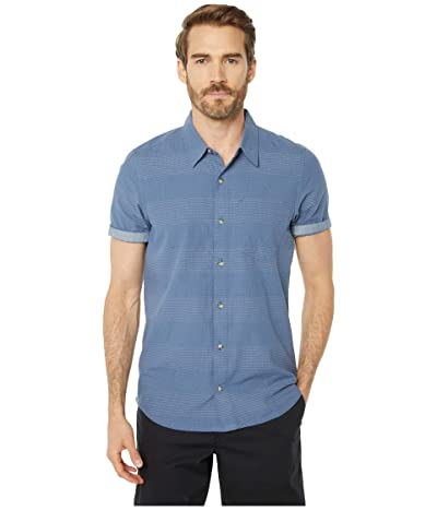 Toad&Co Airlift Short Sleeve Shirt Slim (High Tide) Men