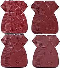 pulido para Black 40 y Decker Sander K para lijado 140 x 140 x 98 mm 6 agujeros 1000 40 10 papeles de lija /óxido y eliminaci/ón