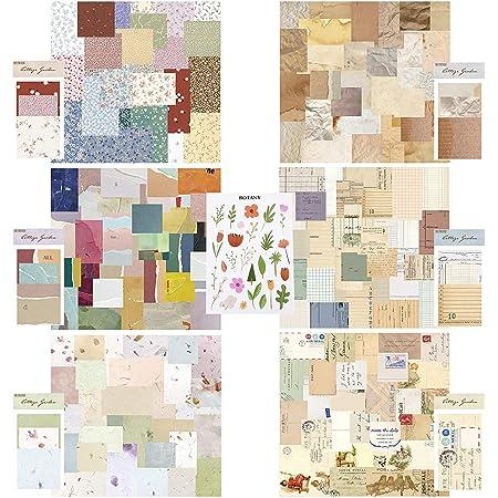 360 Papier Scrapbooking, Papier Scrapbooking Matériel Papier à lettres papier de scrapbooking Papier décoratif pour Journal Scrapbook Carterie
