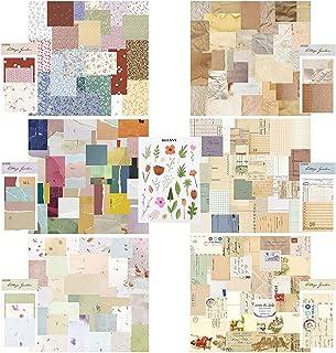 360 Papier Scrapbooking, Papier Scrapbooking Matériel Papier à lettres papier de scrapbooking Papier décoratif pour Journa...
