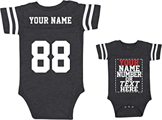 Custom Jerseys for Babies - Make Your OWN Jersey Onesie - Personalized Baby Onesies & Outfits