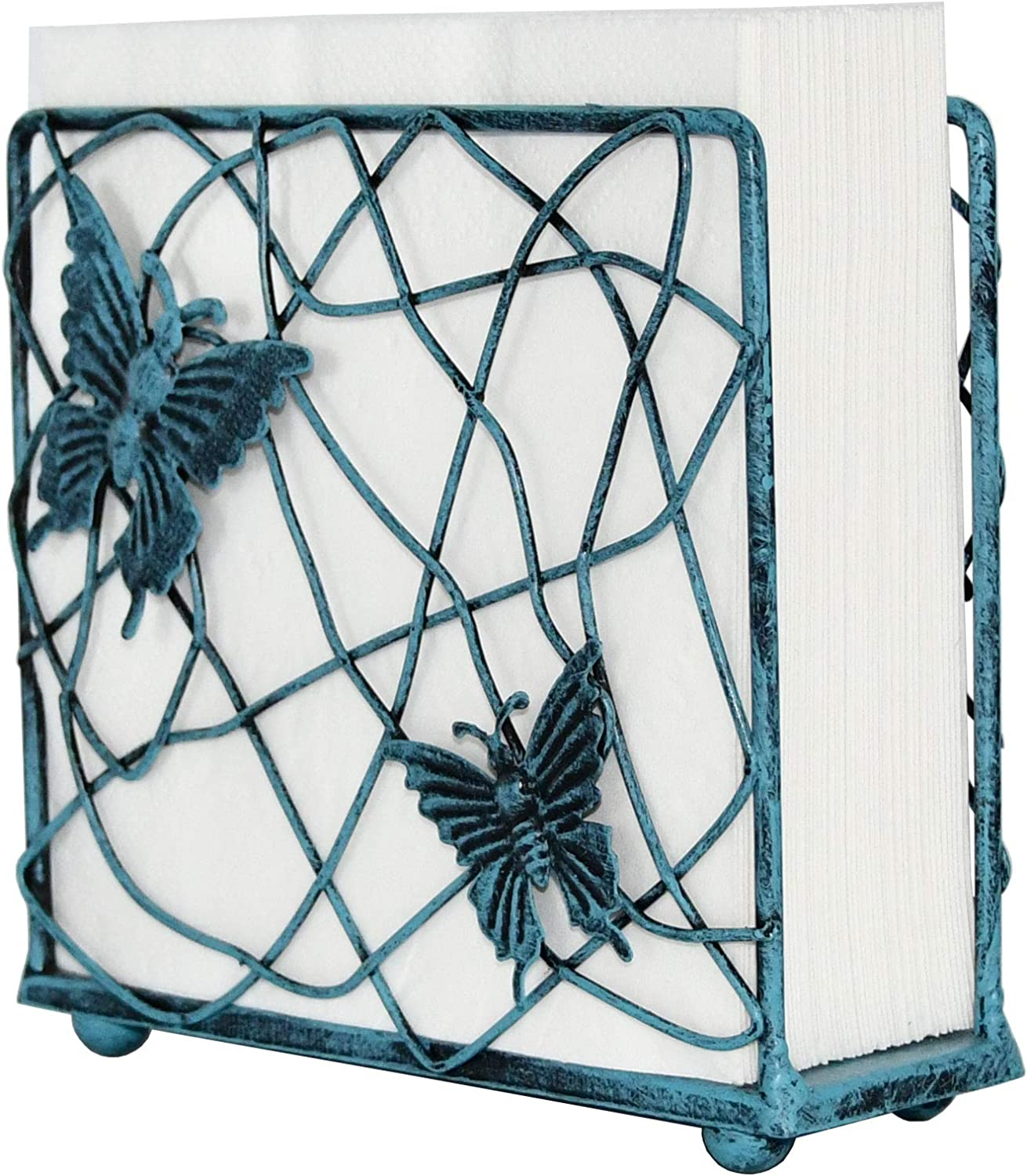 OwlGift Modern Metal Butterfly Napkin Ranking TOP17 Branches Sale SALE% OFF Holder Design