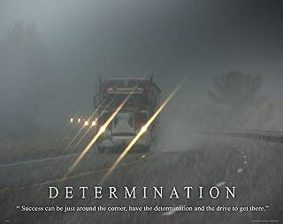 Apple Creek Semi Truck Driver Motivational Poster Art Print 11x14 Wall Decor Pictures