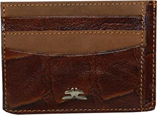 Laveri Genuine Leather Credit Card Holder Wallet Bill And Card Holder For Unisex - Leather, Brown