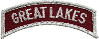 Great Lakes Naval Station Rocker 3 Inch Patch HON023401