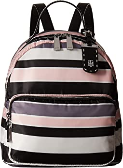 Tommy Hilfiger - Julia Dome Backpack Nylon Victory Stripe