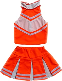 Best orange and blue cheer uniform Reviews