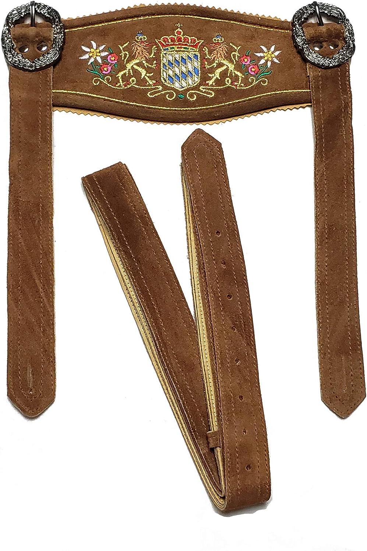 Men's German Bavarian Suspenders for - Raleigh Mall Kneibun Lederhosen Shorts Selling rankings