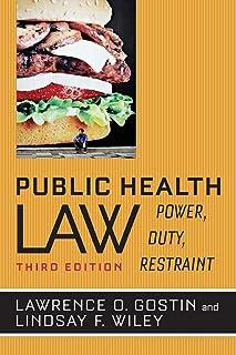 Public Health Law: Power, Duty , Restraint