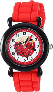 Disney Kids' WDS000564 Disney The Incredibles 2 Analog Display Analog Quartz Red Watch