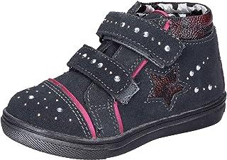 DIDI Blu Sneaker Bambina Pelle Scamosciata Grigio