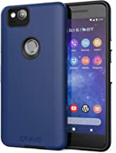 Google Pixel 2 Case, Crave Dual Guard Protection Series Case for Google Pixel 2 - Navy