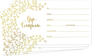 custom foil certificates