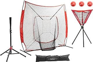 Pinty Baseball and Softball Practice Net 7×7ft Hitting Batting Net