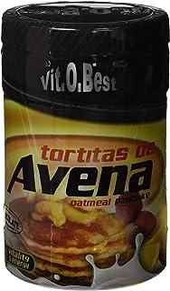 Tortitas de Avena en Polvo - Combinado de Carbohidratos Proteínas y Vitaminas - Suplementos Deportivos y Suplementos Alimentación - Vitobest (Chocolate, 700g)