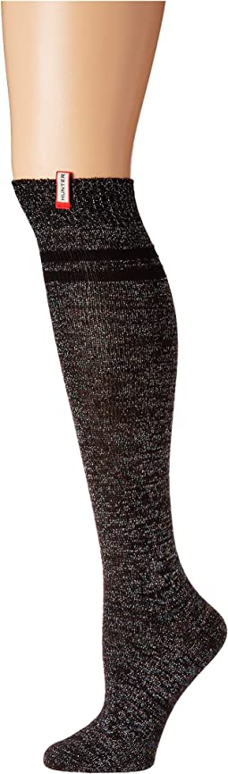 Original Aurora Borealis Stripe Knee High Knit Sock