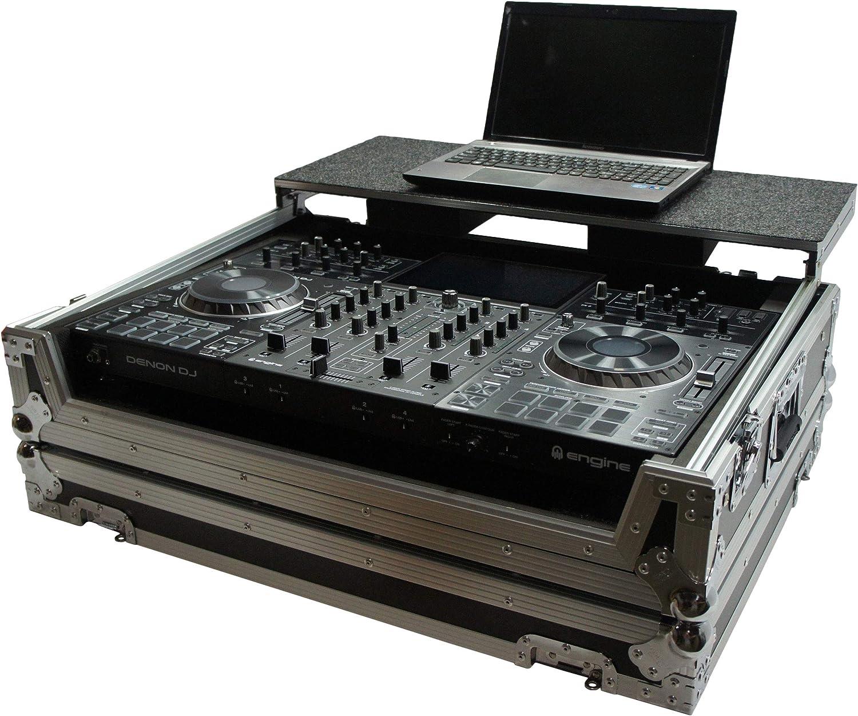 Harmony HCMCX9000LT Credence Flight cheap Glide Laptop Case DJ Stand Custom Com