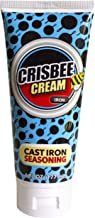 Crisbee Cream Iron Cast Iron and Carbon Steel Seasoning - Family Made in USA - The Cast Iron Seasoning Oil & Conditioner P...