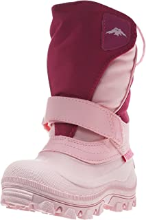 Tundra Quebec, Watter Resistant Child Winter Boots Pink/Fuchsia 2 M US Little Kid