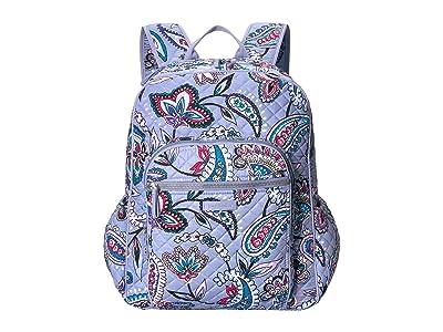 Vera Bradley Iconic Campus Backpack (Makani Paisley) Backpack Bags