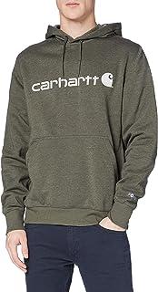 Carhartt Force Delmont Graphic Hooded Sweatshirt Felpa con Cappuccio Uomo