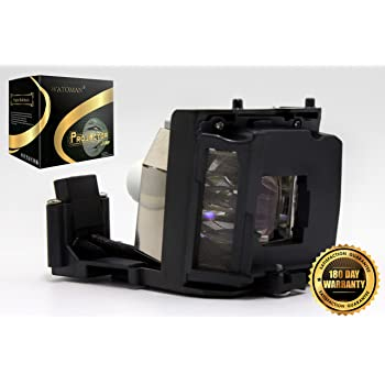 PG-F200X XG-F260X XG-F210 XR-40X XR-30X XG-F210X by Watoman XR-41X AN-XR30LP Premium Compatible Projector Replacement Lamp with Housing for Sharp PG-F15X XR-30S
