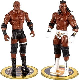 WWE بابی لشلی Vs کینگ بوکر قهرمانی مسابقه مسابقه 2 بسته 6 در / 15.24 سانتی متر اکشن چهره های جمعه شب Smackdown نبرد بسته برای سنین 6 سال