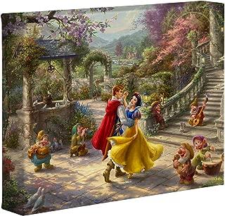 Thomas Kinkade Studios Disney Snow White Dancing in The Sunlight 8
