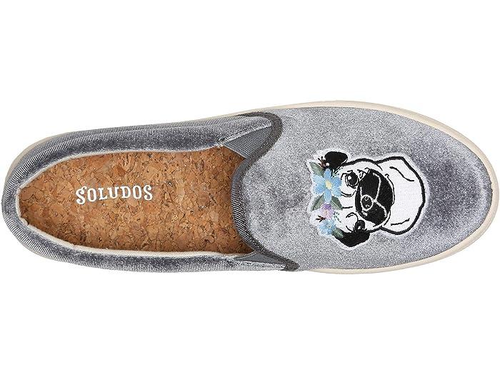 Soludos Flower Pug Slip-On Sneaker | 6pm