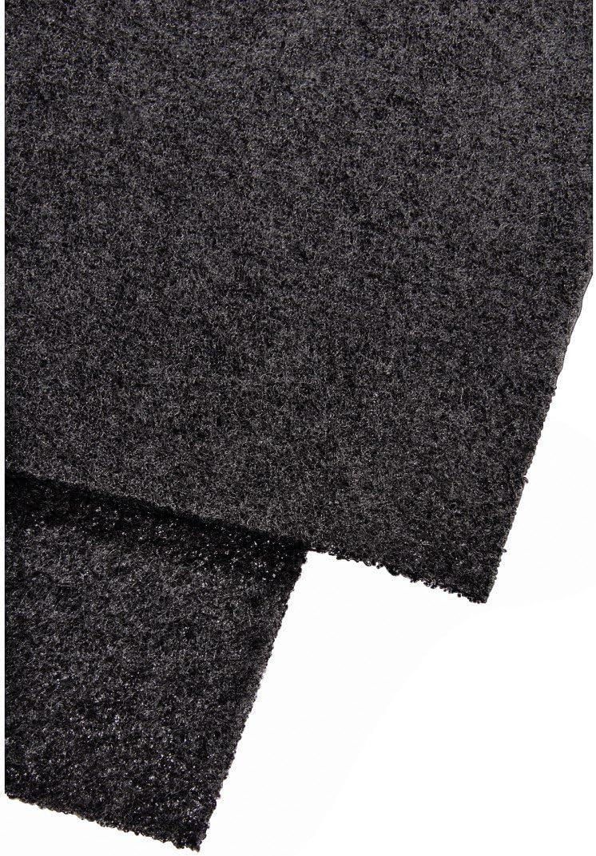 Xavax - Filtro de carbón para campanas de cocina, color negro