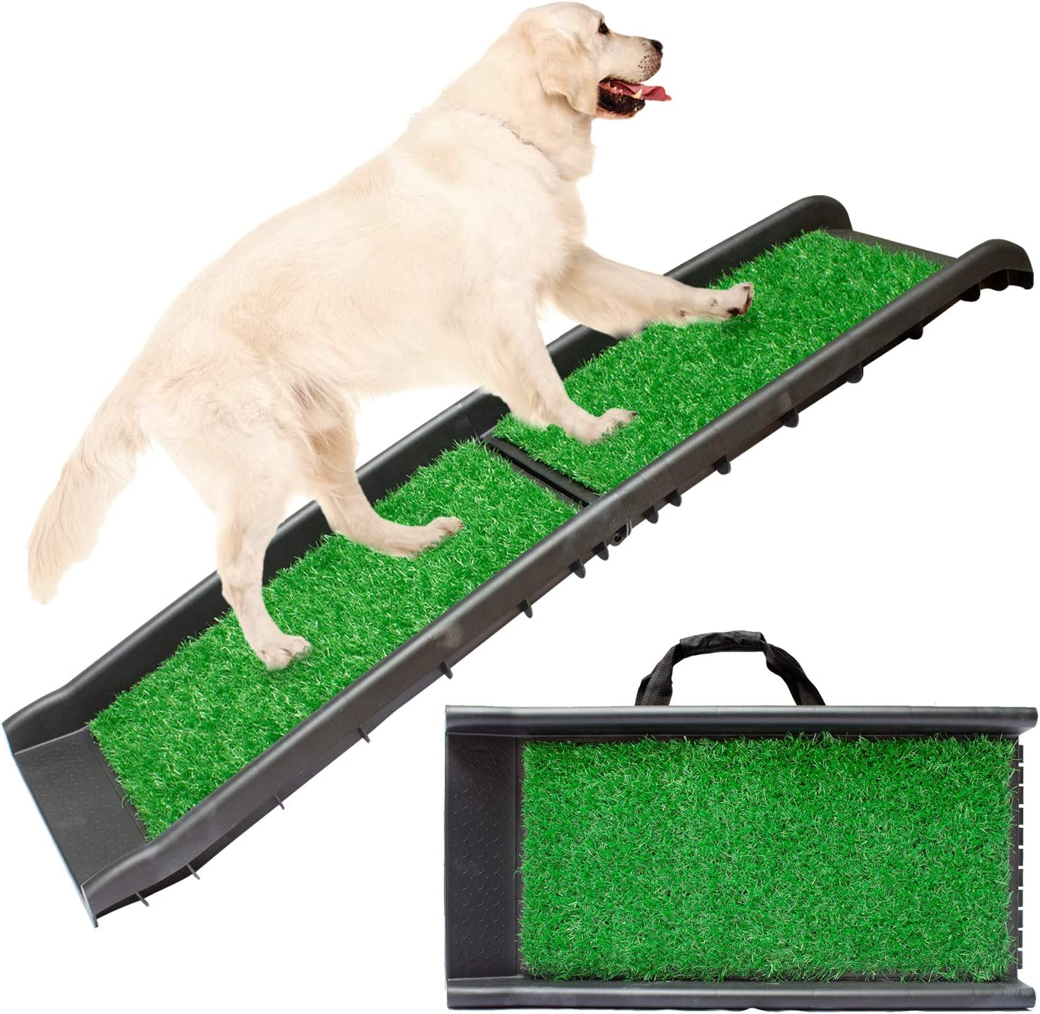 Downtown Pet Direct sale of manufacturer Supply Dog Foldable We OFFer at cheap prices Stairs Ramp or for Small an