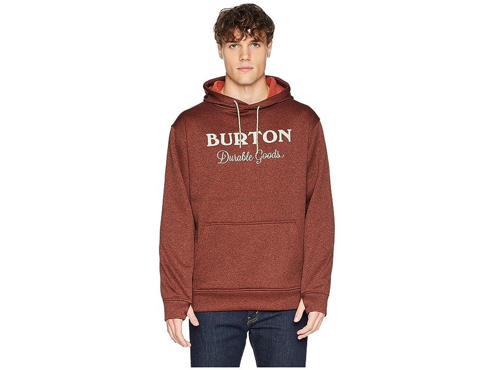 Burton Oak Pullover Hoodie (Bitters Heather) Men