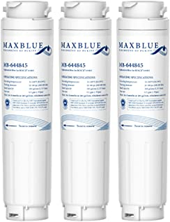 Maxblue 644845 Filtre à Eau pour Réfrigérateur Compatible avec Bosch UltraClarity 644845, 00740560, 740560, 00499850, 0064...