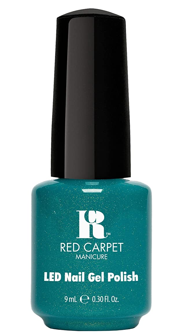 リラックスした元の安全なRed Carpet Manicure - LED Nail Gel Polish - Power of the Gemstones - Zircon - 0.3oz/9ml