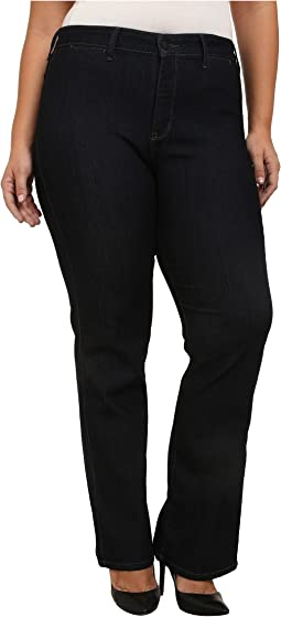NYDJ Plus Size Plus Size Isabella Trouser in Dark Enzyme