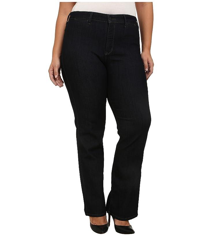 NYDJ Plus Size Plus Size Isabella Trouser in Dark Enzyme (Dark Enzyme) Women's Jeans
