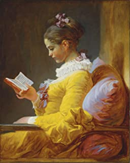 Odsan Gallery A Young Girl Reading - By Jean-Honore Fragonard - Canvas Prints 16