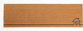Fab Habitat Extra Thin Doormat   Entryway Door mat for Patio, Front Door   Decorative All-Season   Home View   Non-Slip   ...